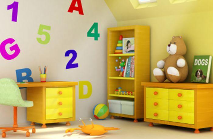Allergy Free Kids Room