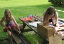 Girls Building