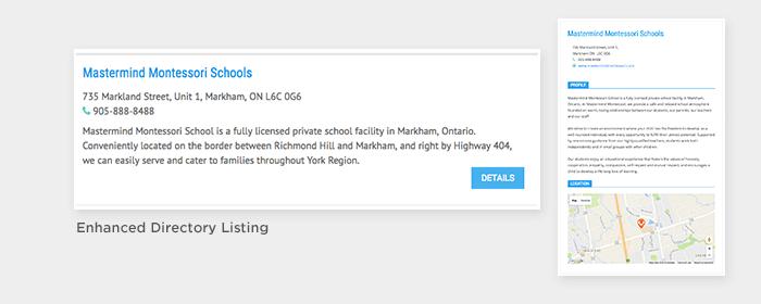 Enhanced Directory Listing