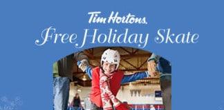 Tim Hortons Free Holiday Skate