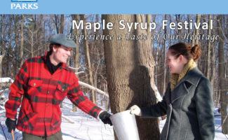 Bronte Creek Maple Syrup Festival
