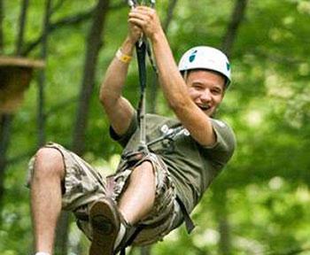 Treetop Trekking in Stouffville Ontario