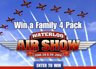 Win tickets to the Waterloo airshow