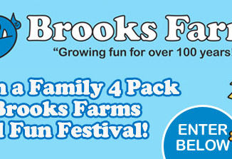 Win a Family Pass to Brooks Farms