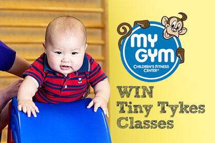 Win 4 weeks of classes at mygym
