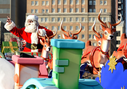 Santa Claus Parade Schedules GTA