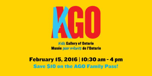 Family Day at the AGO
