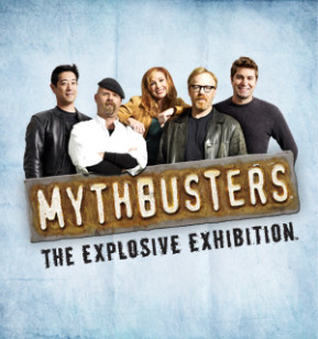 Myth Busters at the Science Center