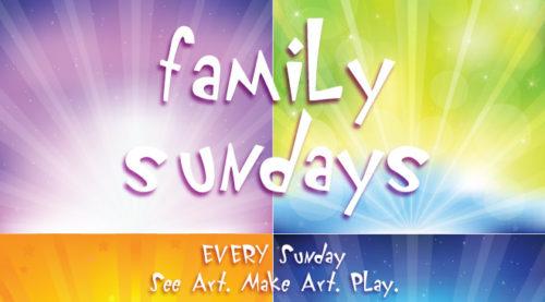 Family Sundays at the AGO