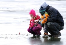 Family Ice Fishing Ontario