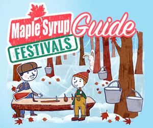 Maple Syrup Festivals Banner