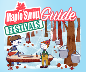 Maple Syrup Festivals Banner