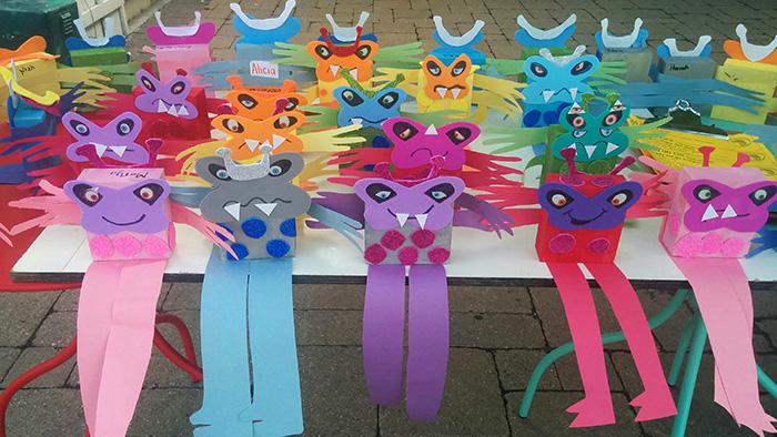 Crafts at Main Street Kids
