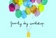 Family Day Paintlounge workshop