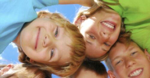kids smiling pic
