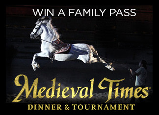 Win a Family Pass to Medieval Times