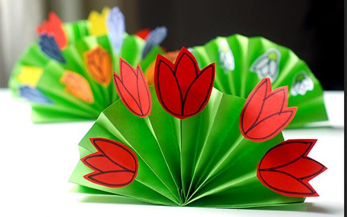 Spring Flower fans