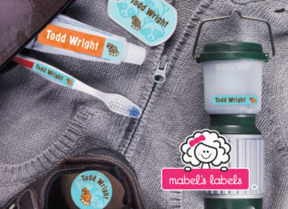 Win a Camp Pack from Mabels Labels