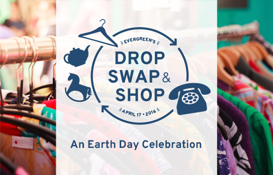 Evergreen drop, swap & shop