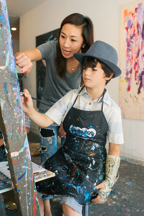 Kids Workshops at Paintlounge
