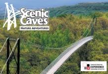 Scenic Caves suspension Bridge