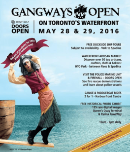 Gangways Open Toronto 2016