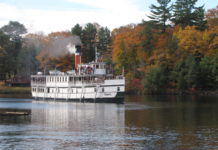 RMS Segwun, North America's oldest operating steamship
