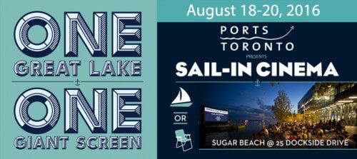 Sail in cinema ports toronto