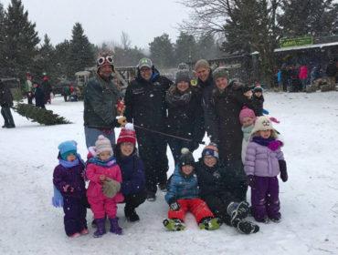 Christmas Tree Hunt at Hortons Magic Trees