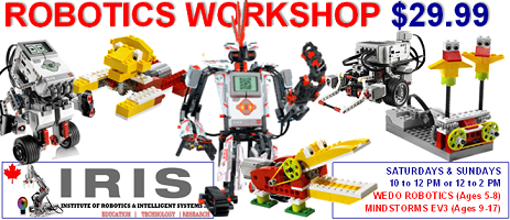 robotics workshop detailed