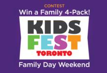 Win tickets to KidsFest