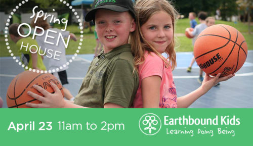Earthbound Kids Spring Open House