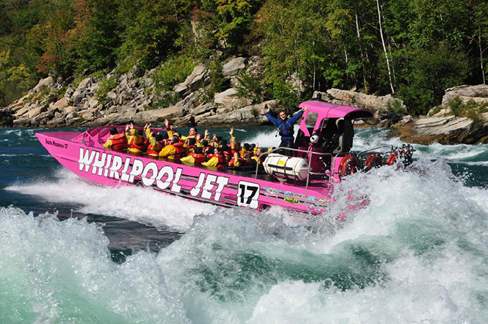 Whirlpool Jet Boat Tours Waves