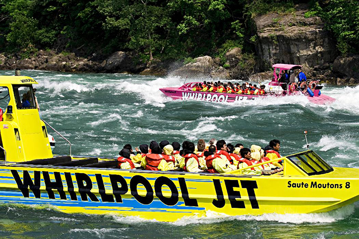 Two Whirlpool Jet Boats