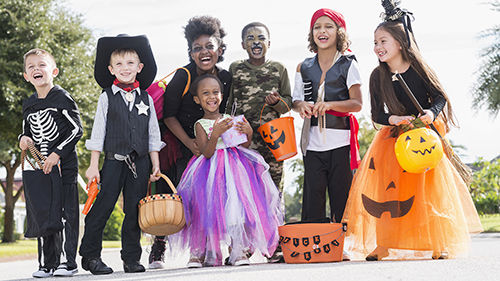 Retro Halloween Family Drop-In