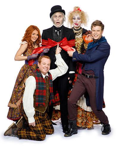 Ross Petty Christmas Carol Cast