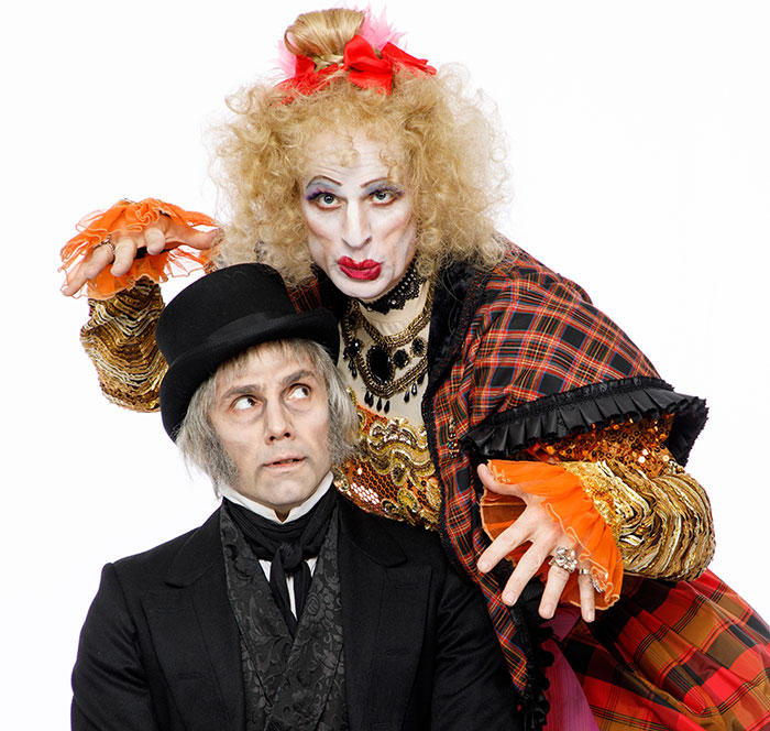 A Christmas Carol The Family Musical With A Scrooge Loose