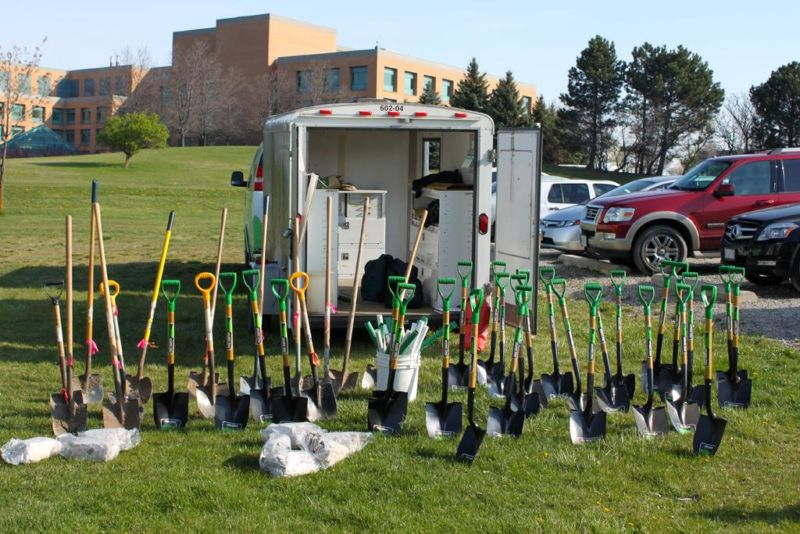 Town of Orangeville Earth Day Tree Planting