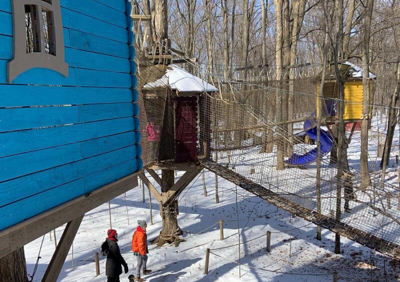 Treewalk Village Open for the Season