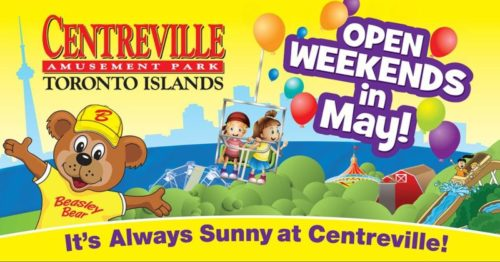 Centreville Open Weekends in May