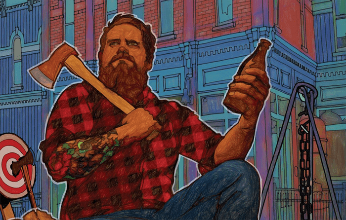 Fire Beards and axes