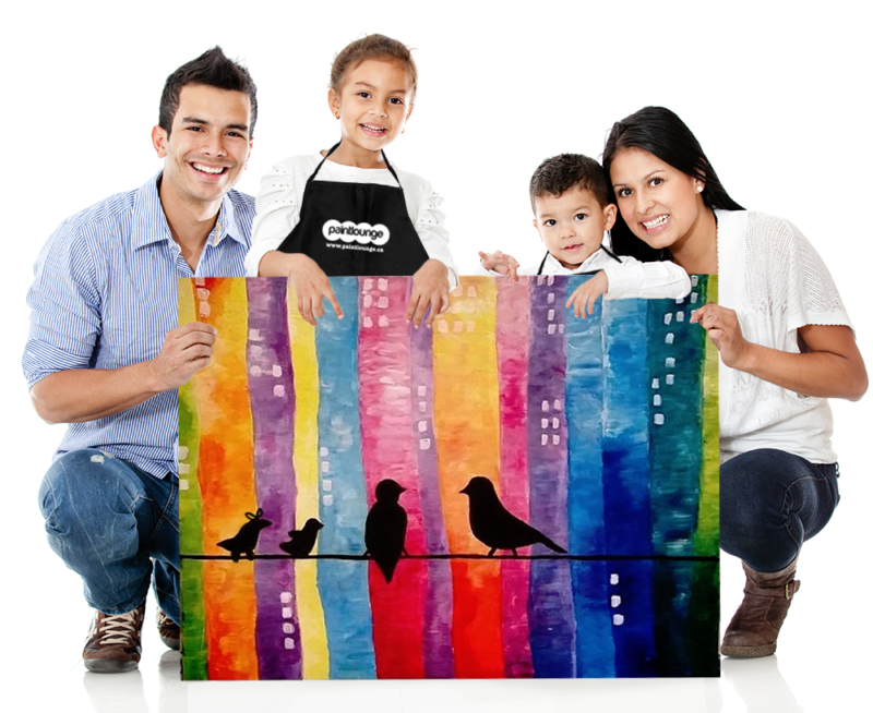 City Love Family Workshop at Paintlounge