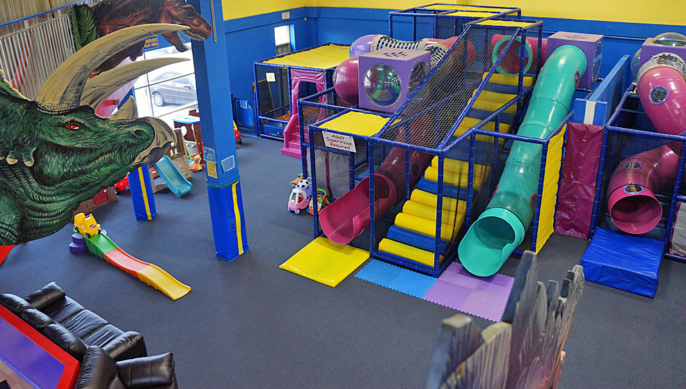 slides at markham indoor playground