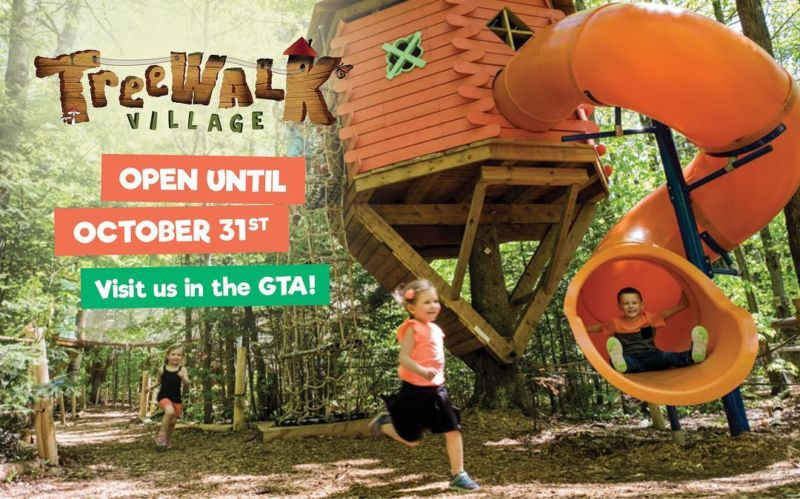 TreeWalk Village Fall Weekends