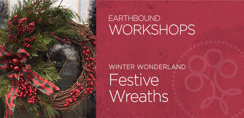 Festive Wreaths Workshop