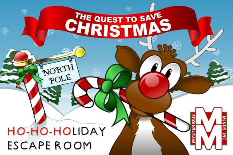 Mysterious Minds Christmas Escape Room