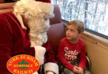 Win tickets for the santa train