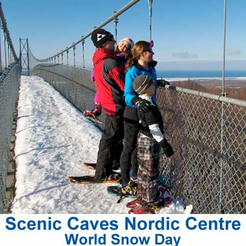 World Snow Day 2019 Special Offer at Scenic Caves Nordic Centre