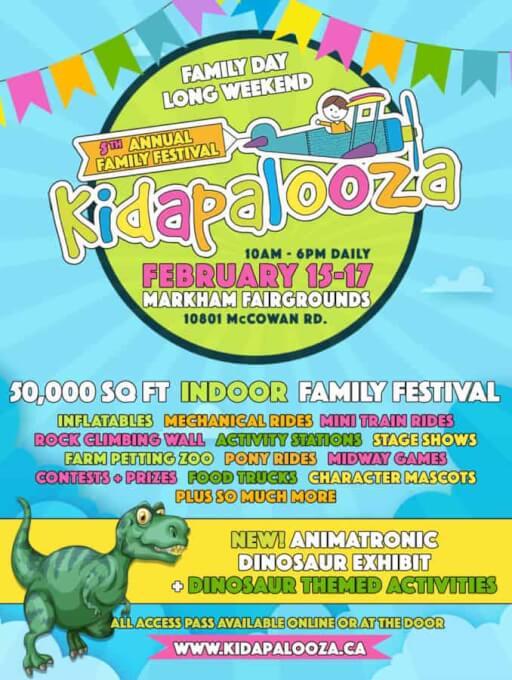 Kidapalooza Family Day Weekend