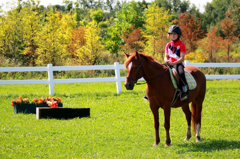 Junior Equestrians at Earthbound Kids